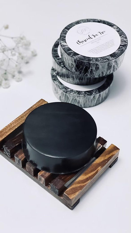 Charcoal Tea Tree Facial Soap