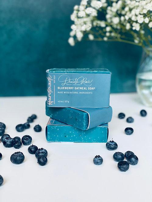 Blueberry Oatmeal Soap