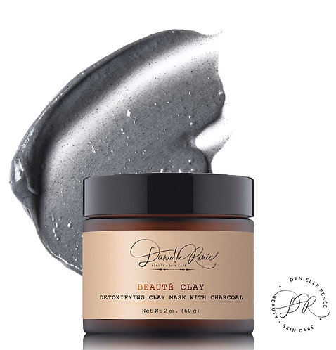 Beauté Clay Detoxifying Mask with Charcoal