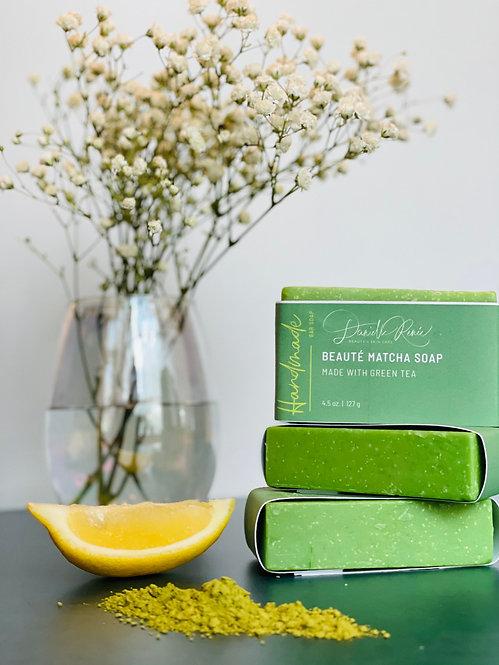 Beauté Matcha (green tea) Soap