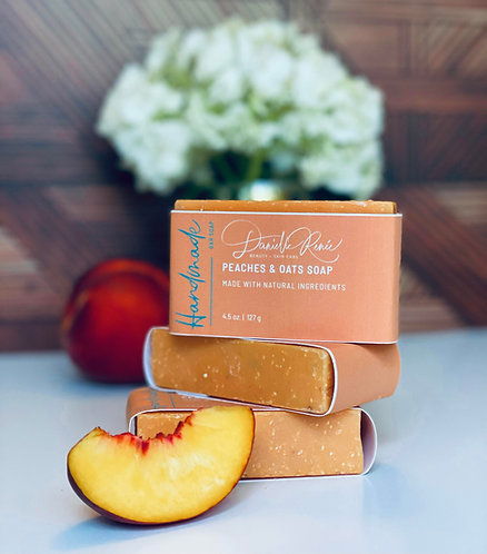 Peaches & Oats Soap