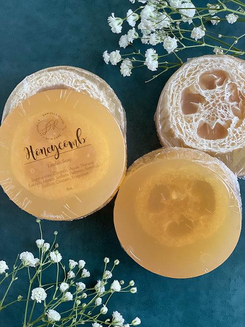 Loofah Soap - Honeycomb
