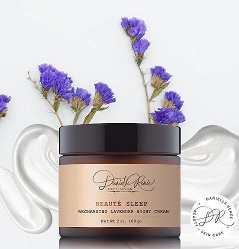 Beauté Sleep Recharging Lavender Night Cream