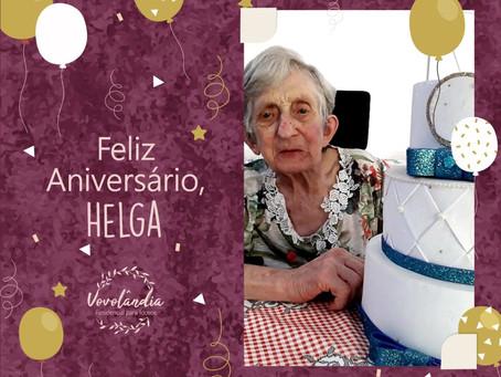 Feliz aniversário, Helga - 26/10/2021