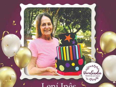 Feliz aniversário, Leni - 6/04/2021