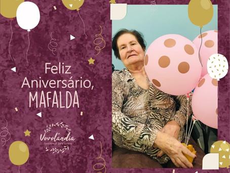 Feliz aniversário Mafalda - 27/11/2020