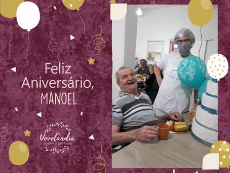 Feliz aniversário, Manoel - 29/11/2020