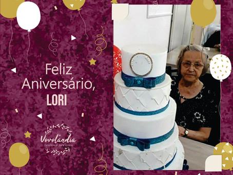 Feliz aniversário, Lori! - 27/12/2020