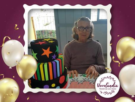 Feliz aniversário, Hilde! 02/06/2021