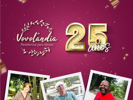 Campanha de 25 anos de Vovolândia