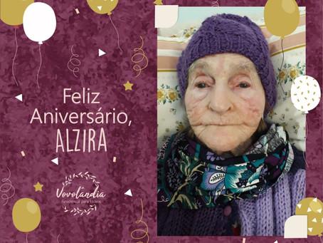 Feliz aniversário, Alzira (07/08/2020)