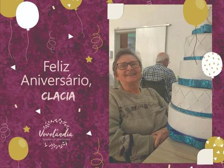 Feliz aniversário, Clacia Hermes - 22/07/2020