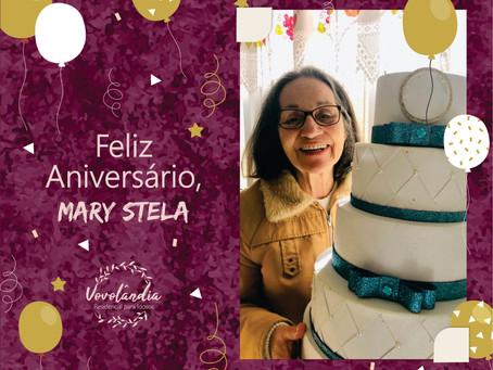Feliz aniversário, Mary Stela - 10/07