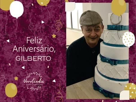Feliz aniversário, Gilberto - 03/09/2020