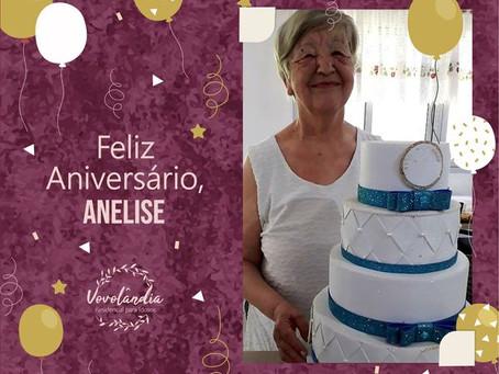 Feliz aniversário, Anelise  - 13/12/2020