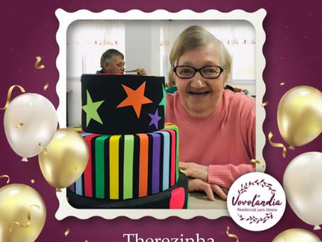 Feliz aniversário, Therezinha Edith Acosta  - 08/06/2021