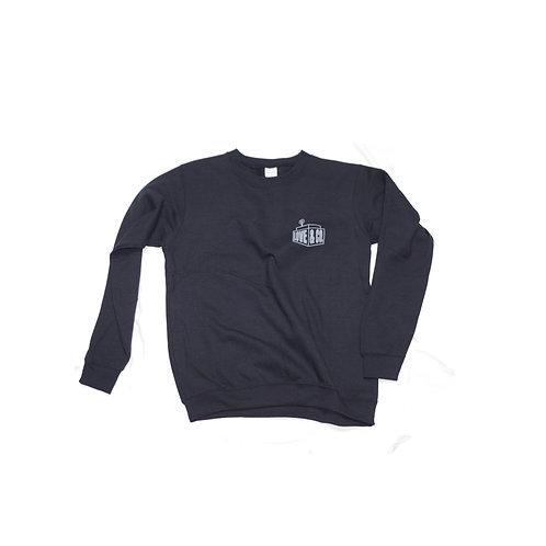 Company Logo Sweatshirt BLACK