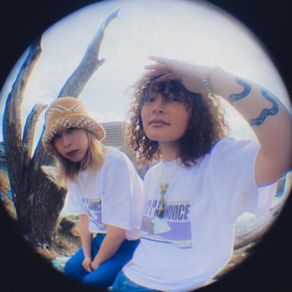 Haunt of Fresh × ABNOVICE  Collaboration T-shirt