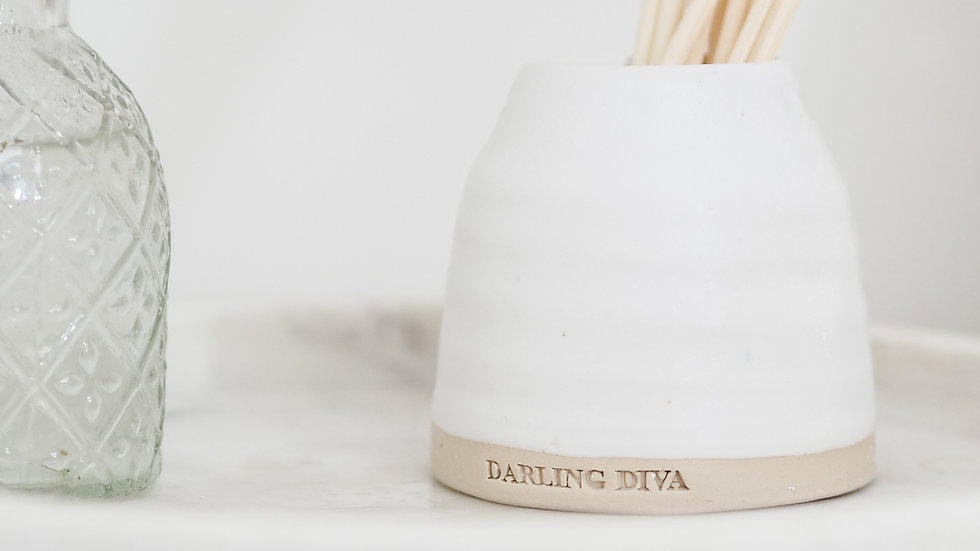 Hand Thrown Pottery Diffuser
