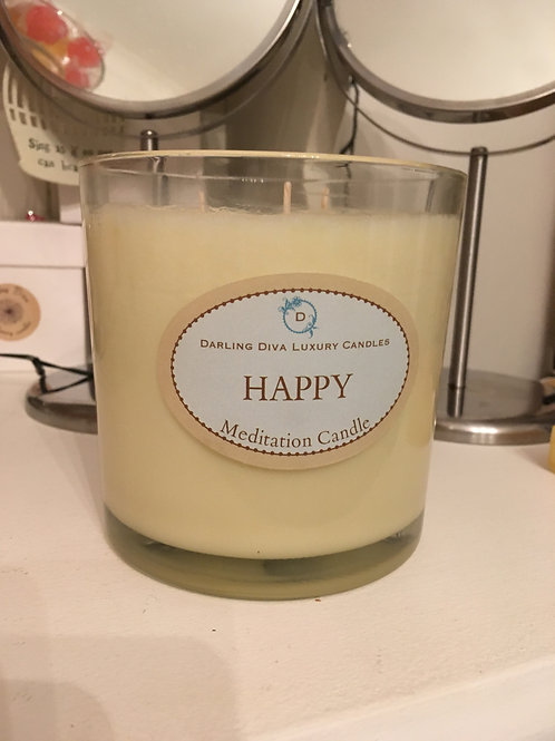 65cl Happy Candle