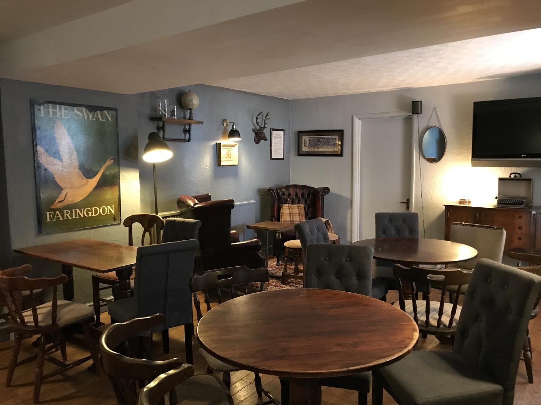 The Swan Pub Tables