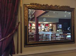 Cannie Man mirror & curtain