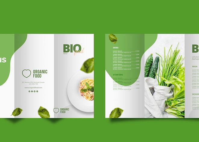 Green-Graphic-design-brochure
