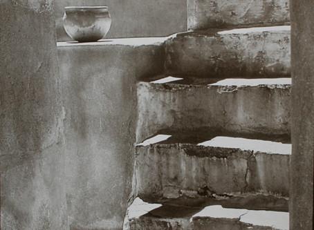 """""""Stairway to the Past"""" ~ Palladium toned Kallitype"""