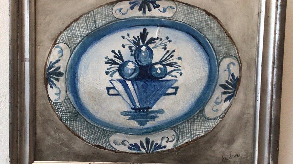A Delft plate.