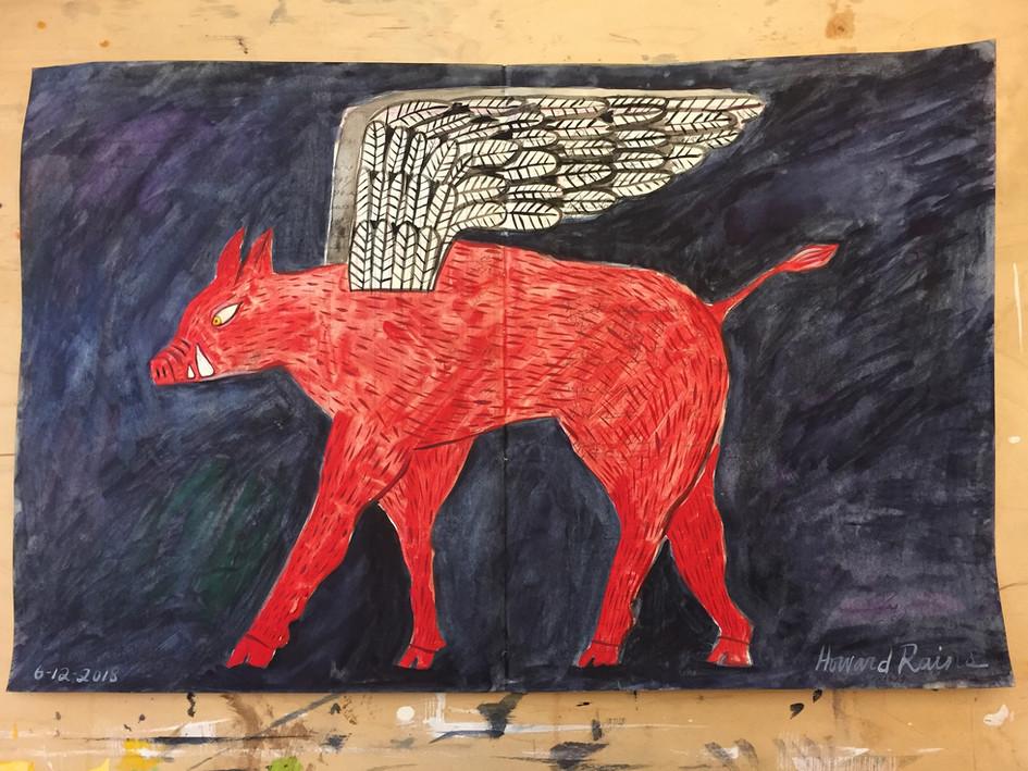Winged Hog