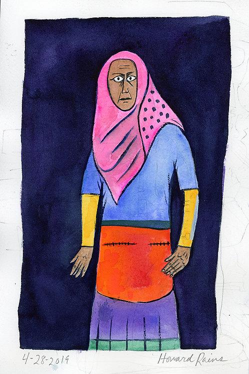 Somali Woman at the Goodwill