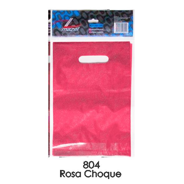 SACOLA 20X30 ROSA CHOQUE