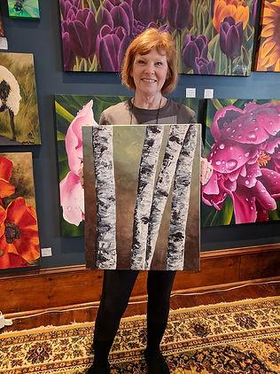 Lisa Birchbark Paint Class The Mat & The