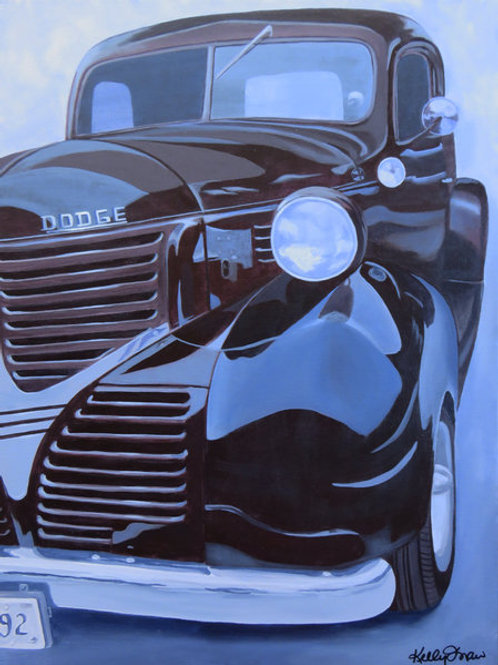 For the Love of Dodge 18x24