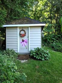 Debbie's Garden Shed Door