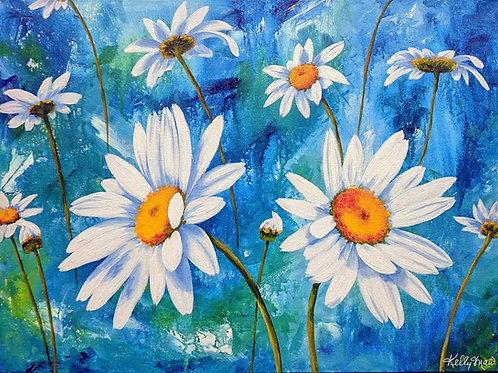Crazy About Daisies - 18x24