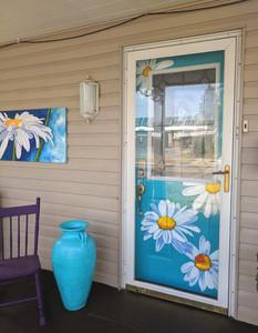The Mat & The Easel Front Door