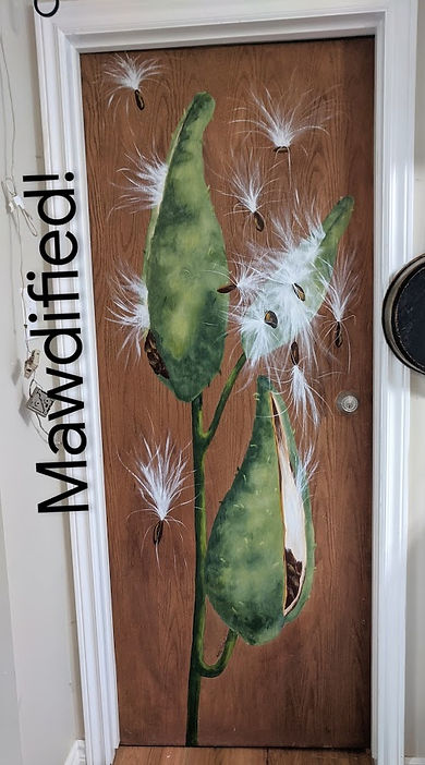 Nancy's Interior Milkweed door.jpg