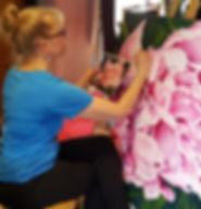 kellymaw.com, vibrantflowers, paintlesso