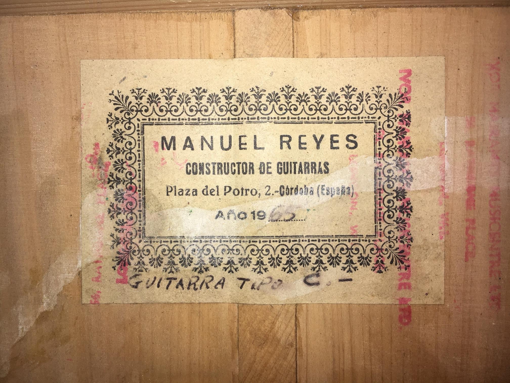 Manuel Reyes 1965