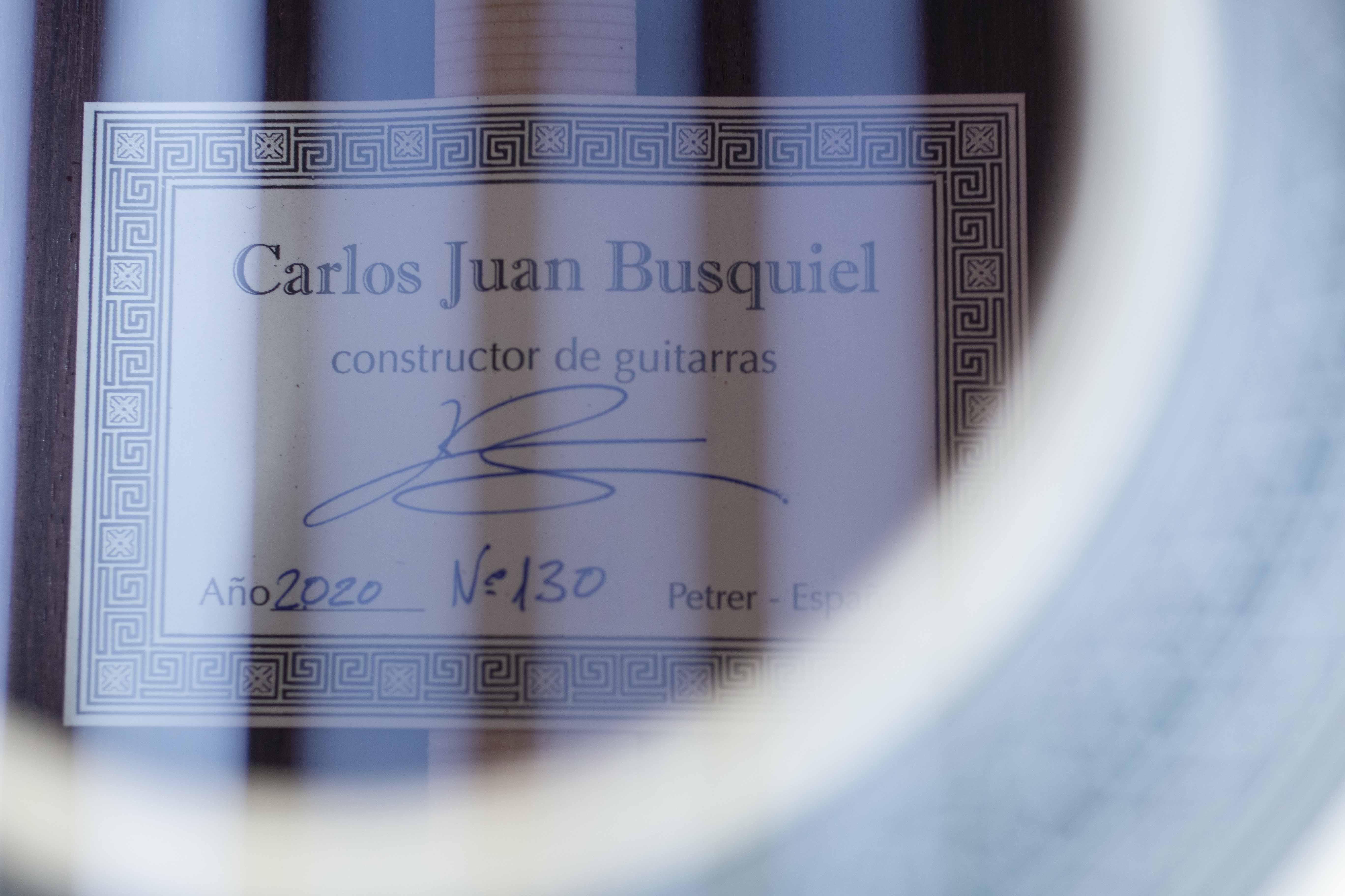 Busquiel 2020 EJuan Carlos Busquiel 2020