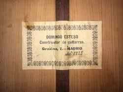Domingo Esteso 1925