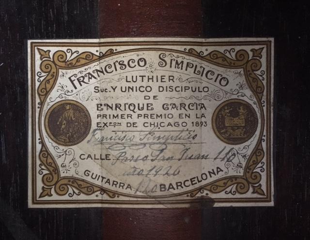 Francisco Simplicio 1926