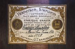 Francisco Simplicio 1927