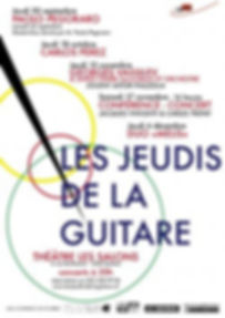 Les Jeudis de la guitare