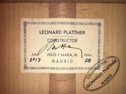 Léonard Plattner 2017