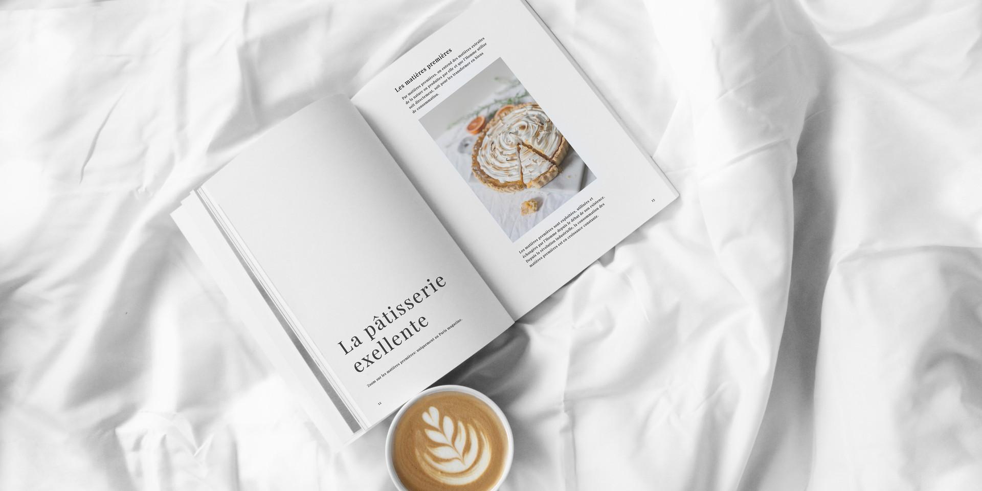 Magazine et café