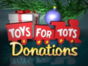 Toys-For-Tots Donation's 2019