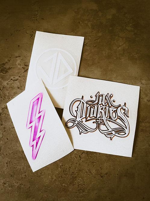 Jax Diaries Stickers