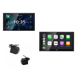 "Combo JVC KW-M560BT 6.8""Carplay / Android / Bluetooth / USB + Camera"
